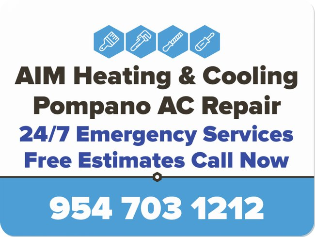 aim heating pompano ac repair